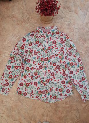 Распродажа!!! рубашка в цветочный принт от old navy