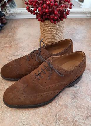Туфли броги мужские от loake shoemakers