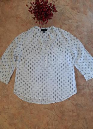 Блуза, рубашка в якоря от atmosphere