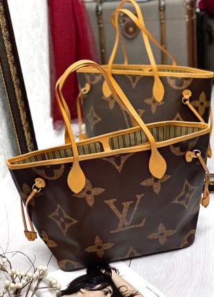 Женская сумка в стиле louis vuitton луи виттон