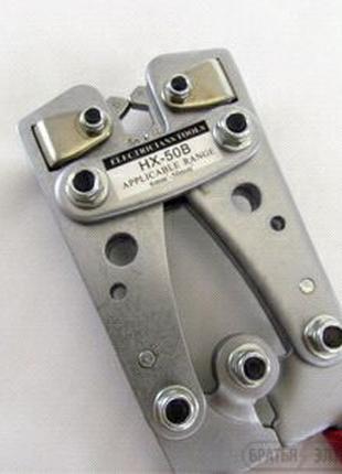 Пресс механический, для обжима гильз и клем до 50мм.кв.