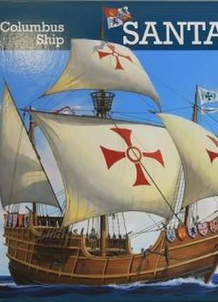 Модель Парусное судно 1477г., Испания Santa Maria, 1:96, Revell