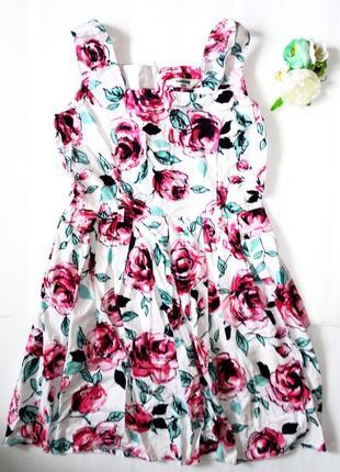 Летнее платье 10 лет tammy (ог 70, т.58, дл.70) коттон