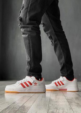 Крутые мужские кроссовки adidas в белом цвете /весна/лето/осень😍
