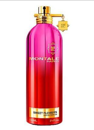 Montale sweet flowers женская парфюмированная вода виалка 2мл