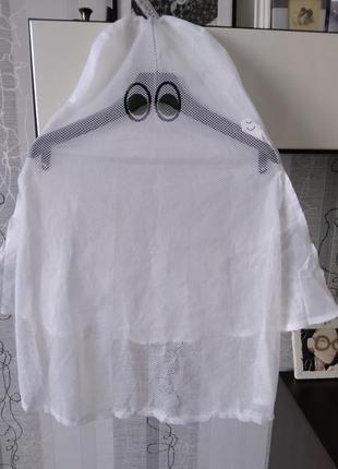 Белая маска мантия ночь смерть призрак