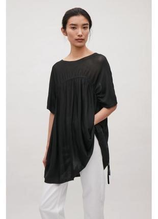 Cos блуза блузка туника топ оверсайз oversize