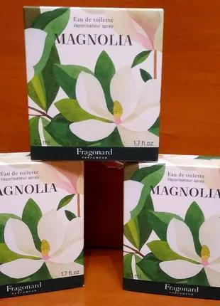 Туалетна водичка Magnolia від Fragonard 50ml