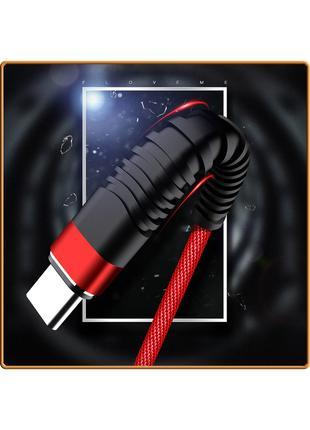 Усиленный, надежный и прочный USB кабель Floveme