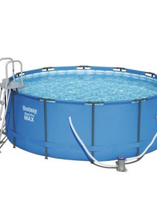 Каркасный бассейн Bestway 15427 (366х133 см) с картриджным фил...