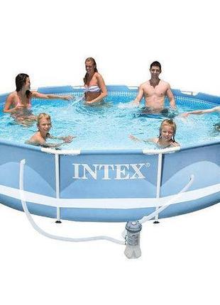 Intex Бассейн каркасный 28712 Насос фильтр
