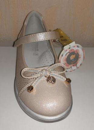 Летние туфли на девочку 27-32 р. tom.m