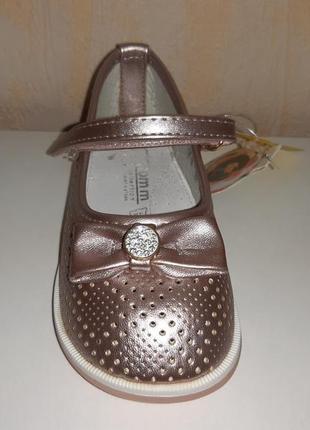 Летние туфли на девочку 21-26 р. tom.m