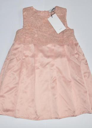 Распродажа! нарядное платье name it на рост 116