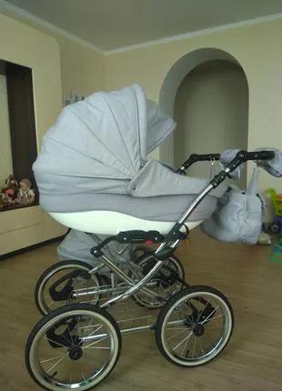 Классическая коляска 2 в 1 Adamex