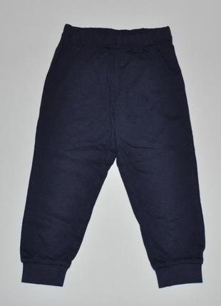 Новые трикотажные спортивные штаны lupilu на рост 86-92