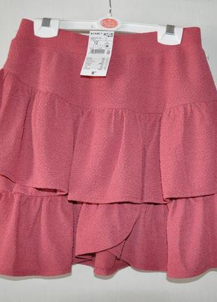 Классная юбка kiabi на рост 146-152