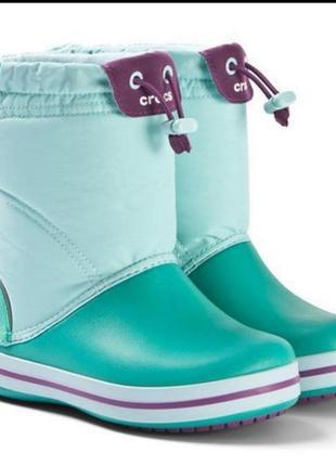Зимние сапоги crocs j5