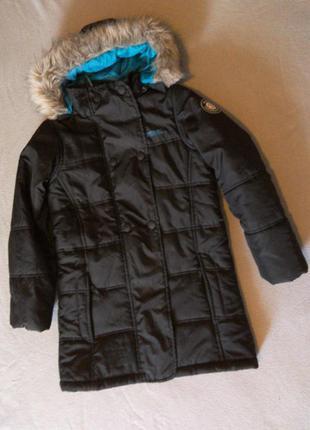 Фирменная деми курткс для девочки 9-10лет