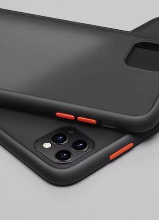 Противоударный защитный силиконовый чехол для iPhone