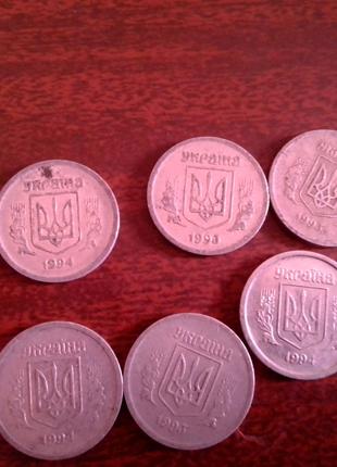 Монеты Украины, 2 копеек