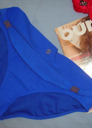 Низ от купальника женские плавки размер 48-50 / 14 синие голубой