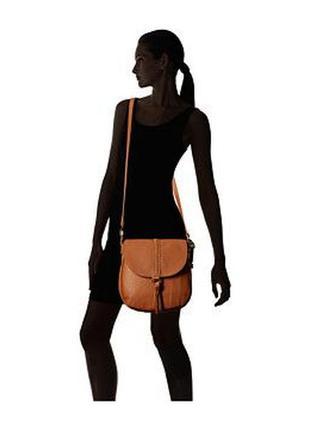 Кожаная сумка от американского бренда lucky brand