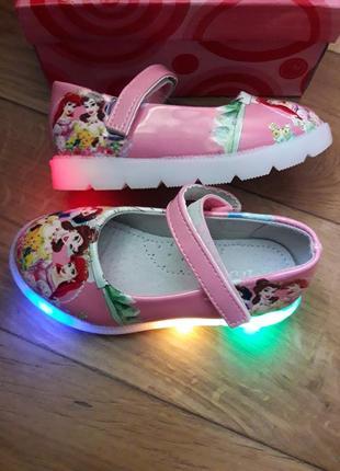 """Красивые туфельки""""ельза"""".светяться"""