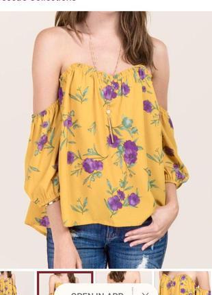 Блузка бюстье