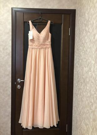 Вечернее, выпускное платье бренда mix bridal макси с этикеткой...