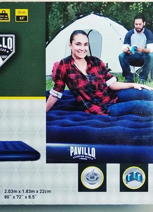 Надувной матрас надувная кровать 2х1.8 м для палатки купания отды