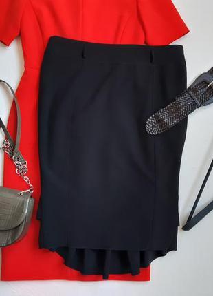 Красивая юбка с воланами