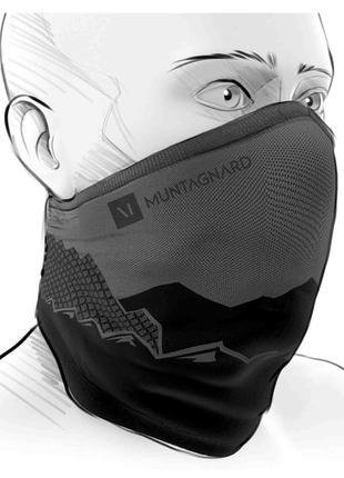 Зимняя маска Muntagnard Activa Winter Mask с защитой от Covid-19