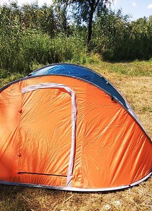 Палатка автомат летняя туристическая четырехместная 210х240х100см