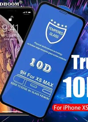 Защитное стекло iphone 10D на 6/6+/7/7+/8/8+/11/XR