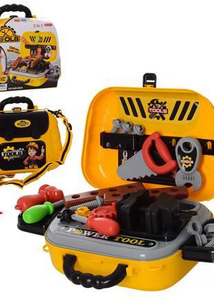 Детский игровой набор инструментов 008-932A в чемодане