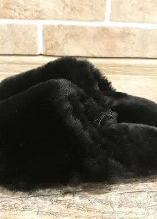Тёплые женские тапки