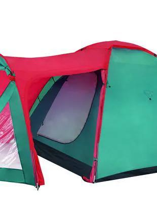 Туристическая трёхместная двухслойная палатка