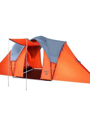 Палатка туристическая шестиместная двухслойная