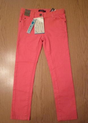 Стильные розовые джинсы на 6, 11-12 лет