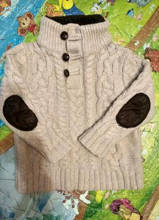 Стильный свитер baby gap 2 - 3 года