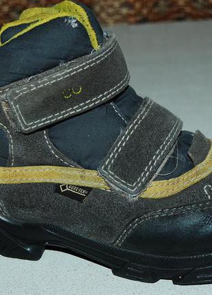 Ecco зимние ботинки 33 размер