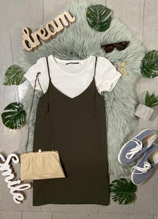 Базовое платье в бельевом стиле №93max