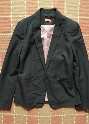 Пиджак жакет черный классика