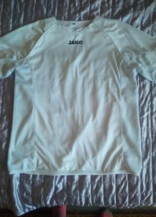 Мужская спортивная футболка jako германия размер l на укр 48-50