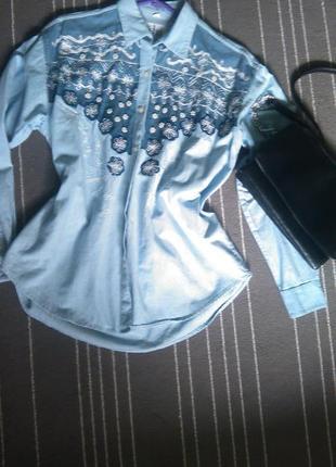 Блуза, рубашка под джинс