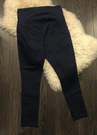 Синие штаны для беременных lc waikiki