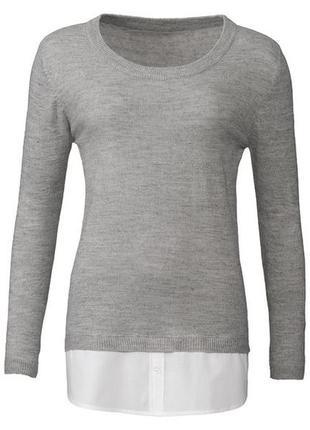 Джемпер пуловер 2 в 1 esmara