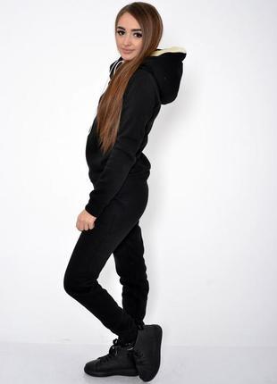 Спорт костюм женский 102r016 цвет черный