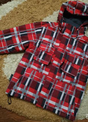 Зимняя лыжная термо куртка на 9-10 лет (можно дольше)